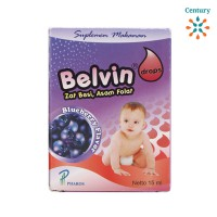 BELVIN DROPS BLUEBERRY 15ML