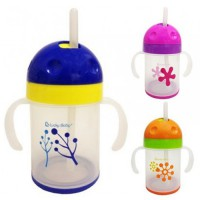 Lucky Baby Twistee Training Straw Cup / botol minum bayi