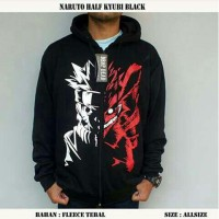 sweater anime naruto / jaket sweater / sweater hoodie / sweater kiyubi