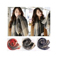 HO5052W - Syal Wool Plaid
