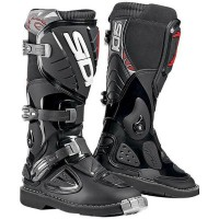 Sepatu Boot Anak Sampai Remaja SIDI SABER WHITE ENDURO OFF ROAD STEEL TOE MX DIRT BIKE LEATHER