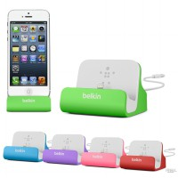 Belkin Charge+Sync Dock with lightning - Clearance Stok (dus rusak)