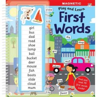 [HelloPandaBooks] Magnetic Play & Learn FIRST WORDS