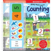 [HelloPandaBooks] Magnetic Play & Learn COUNTING