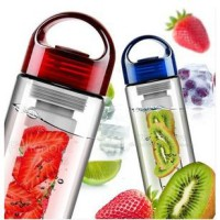 Tritan Water Bottle Botol Air Minum Infuse Citrus Fruit Juice BPA Free