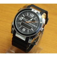Jam Tangan Ripcurl World Time Silver Black Kw Super