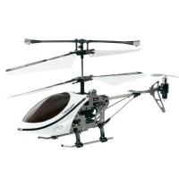 iHelicopter Lightspeed 3 CH iPhone / iPod Touch/ iPad Controlled - White
