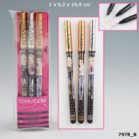 Top Model 7978 TOPModel Gelpen Set 3 Metallic Colours