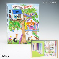 Top Model 8476 Create Your Tree HouseColouring Book