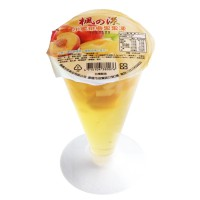 Feng Yang goblet peaches coconut jelly (225gX12)