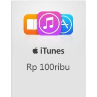 [Apple] Itunes Gift Card Regional Indonesia 100.000