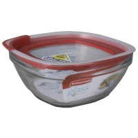 Rubbermaid Food Container Glass SQR 8cup