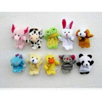 Boneka Jari Binatang / Finger Puppet Animal Isi 10pcs