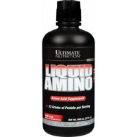 Ultimate Nutrition Amino LIQUID 32 oz | Pembentukan massa otot, suplemen fitness