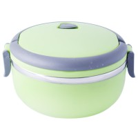 Uniqlo Green Lunchbox Stainless