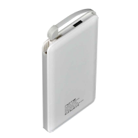 Delcell Power Bank Note Polymer Battery Real Capacity - 10500 Mah