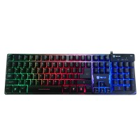 Rexus K9 RGB Keyboard Gaming Backlight - Hitam