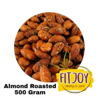 Almond Roasted 500Gr Kacang Almond Panggang 500 Gram