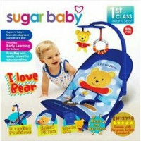 Infant Seat Sugar Baby I Love Bear Bouncer