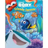 [HelloPandaBooks] Disney Pixar Finding Dory Friends Forever Board Book with peek-through holes