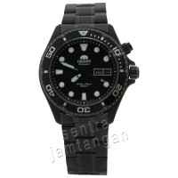 ORIENT FEM65007B9 Automatic - Dial Hitam - Stainless Hitam - Water Resist 200mtr