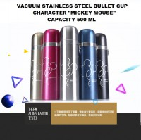 Termos Stainless Steel 'Mickey Mouse' 500 ml / Vacuum Bullet Cup Insulation