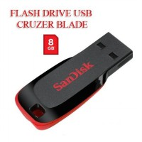 Sandisk FLASH DRIVE USB CRUZER BLADE 8GB Original