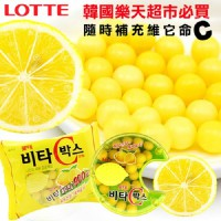 VC Korea LOTTE Lotte sugar (vitamin C candy) 17.5g * 6 players into the still fresh salsa recommend