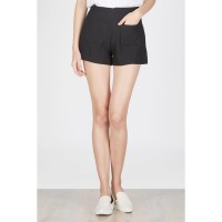 Francois Renchen Short in Black