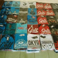(PROMO BELI 1 GRATIS 1!) Kaos Distro 3Second, Macbeth, Volcom, Skaters, Quicksilver dll (AdhTors)