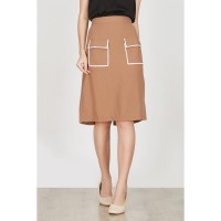 BERRYBENKA Eglantine Brown Skirt