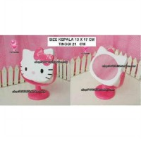 cermin hello kitty face putar