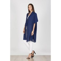 Hecan Navy Long Outer