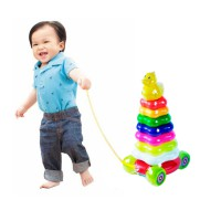 Ocean Toy Stacking Ring Donuts Bebek Mainan Edukasi Anak - OCT513