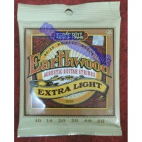 Senar Gitar Acoustic Ernie Ball Earthwood Exra Light 0.10