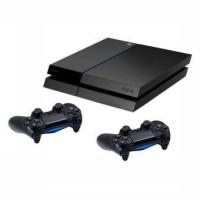 SONY PLAYSTATION 4 -500GB BLACK (PS4) + 2STIK