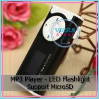 MP3 Player - LED Flashlight support MicroSD