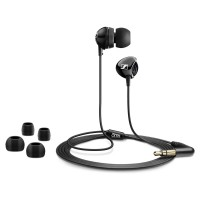 SENNHEISER Original CX 175 High Performance Earphone / Earbuds - Hitam