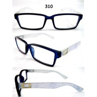 KACAMATA KOREA STYLE GLASSES - JEANS MOTIF 310 [INCLUDE BOX KACAMATA & LAP]