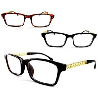 KACAMATA FASHION GLAMOUR GLASSES 311-312 [INCLUDE BOX KACAMATA DAN LAP]