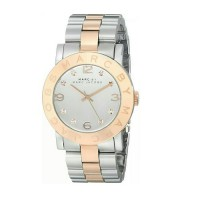 Marc by Marc Jacobs Womens MBM3194 Amy Two-Tone Stainless Steel