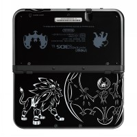 New Nintendo 3DS XL - Solgaleo Lunala Black Edition (Pokemon Sun & Moon)