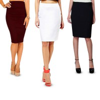 PROMO! Back to Office Women Pencil Skirt | Rok Pensil Span Wanita