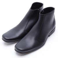Dr.Kevin Leather Boot Shoes 1025 Black