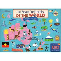 The Seven Continents of the World A Lift-the-Flap Board Book with more than 100 flaps to lift!
