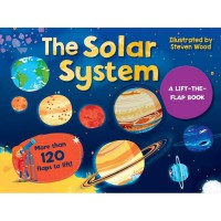 The Solar System A Lift-the-Flap Board Book with more than 100 flaps to lift!
