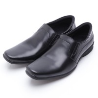 Dr.Kevin Leather Shoes 13203 Hitam