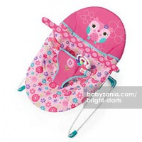 Bright Starts Bouncer Happy Flowers - Vibrating Bouncer