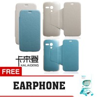 Flip Cover Motorola Moto G Kalaideng Leather Case Swift Series FREE EARPHONE
