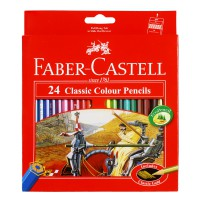 Faber Castell Classic Colour Pencils (Isi 24)